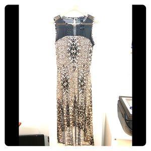 Brand New Ashley Stewart Hi-Lo Leopard Print Dress